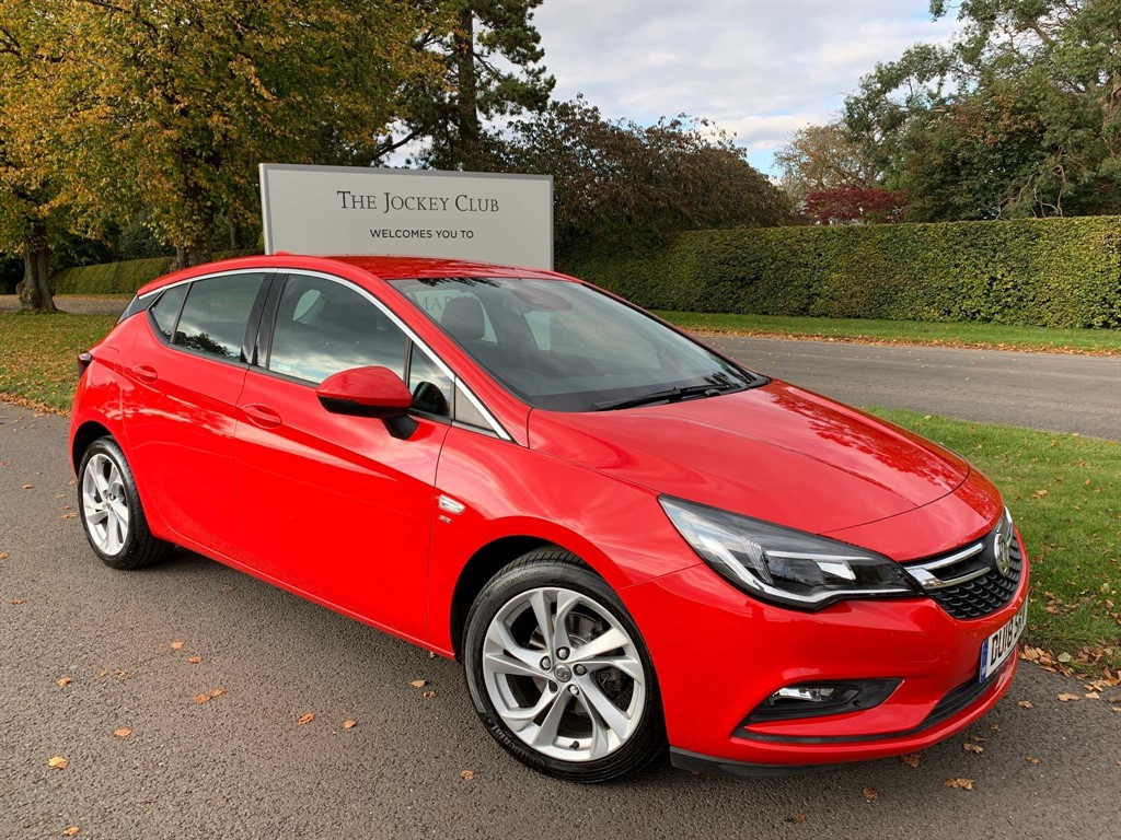used Vauxhall Astra 1.4i Turbo SRi Nav 5dr in newmarket-suffolk