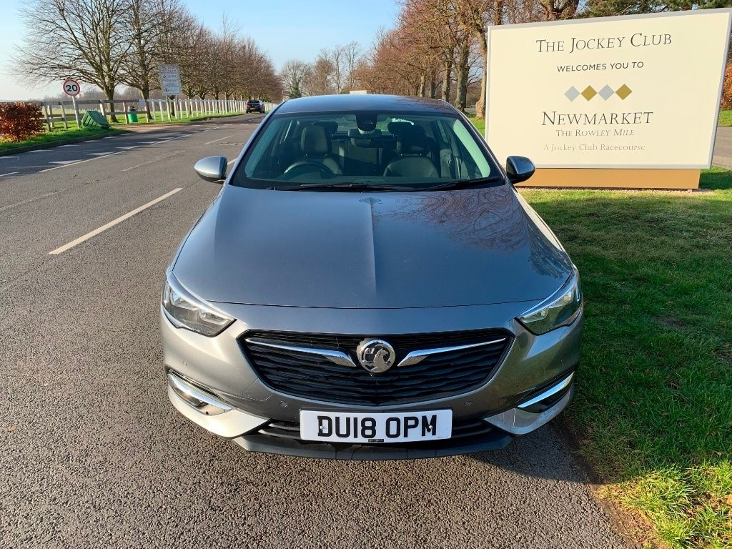 used Vauxhall Insignia Turbo Design Grand Sport (s/s) 5dr in newmarket-suffolk
