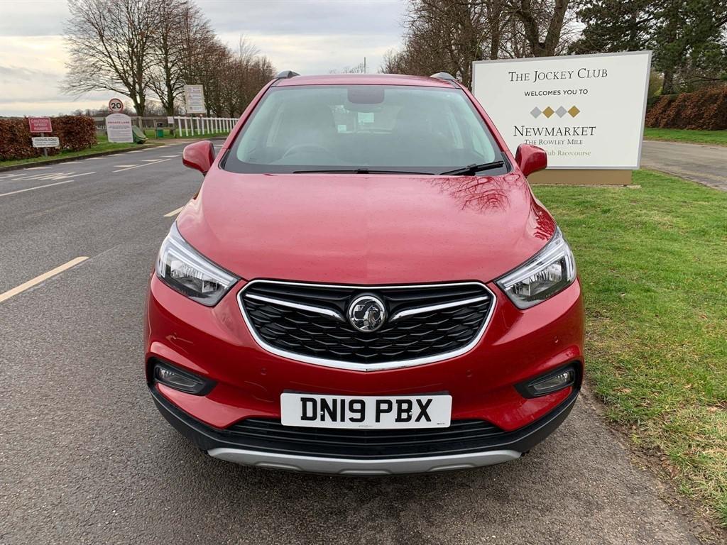 used Vauxhall Mokka X Turbo ecoTEC Design Nav (s/s) in newmarket-suffolk