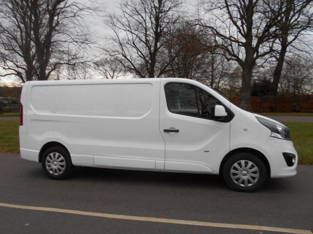 used Vauxhall Vivaro CDTi 2900 L2H1 Panel Van 5dr in newmarket-suffolk