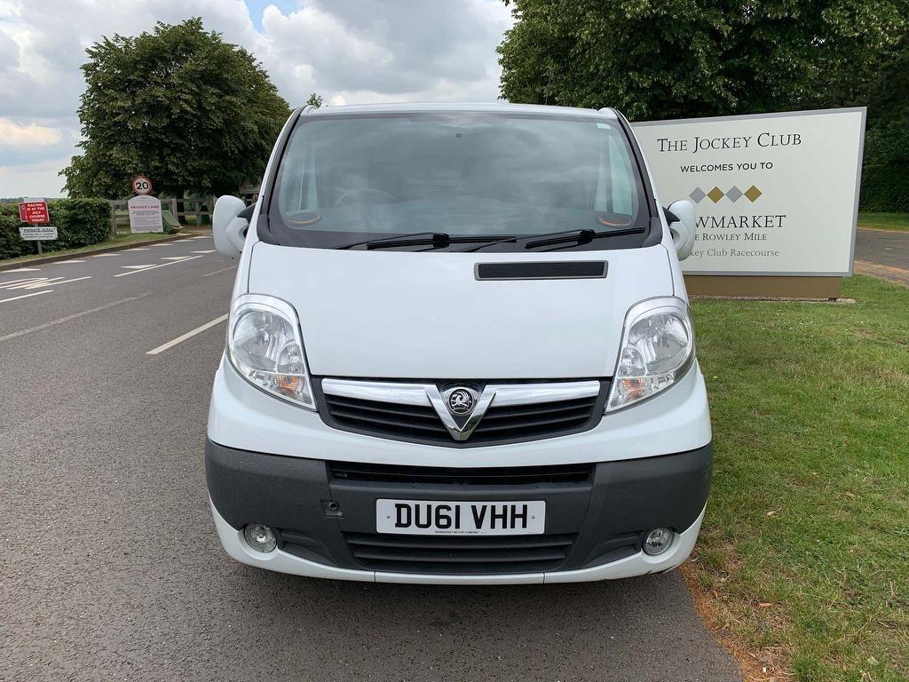 used Vauxhall Vivaro CDTi Sportive 2900 Panel Van 4dr (EU4, LWB) in newmarket-suffolk
