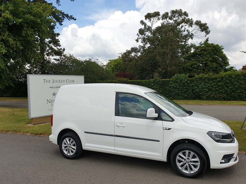 used VW Caddy C20 BlueMotion Tech Highline EU6 (s/s) in newmarket-suffolk