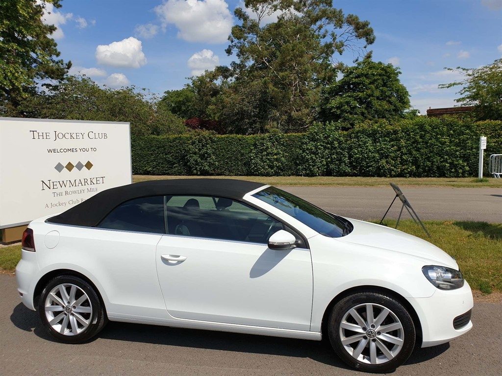 used VW Golf BlueMotion Tech SE Cabriolet in newmarket-suffolk