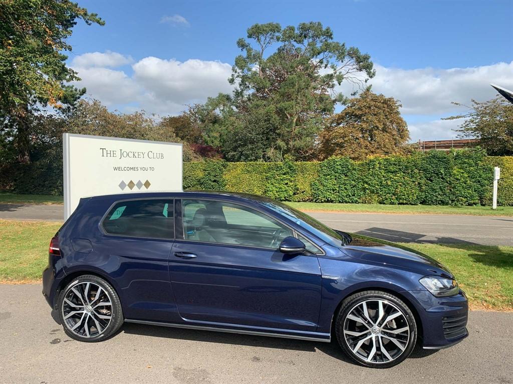 used VW Golf BlueMotion Tech GTD in newmarket-suffolk