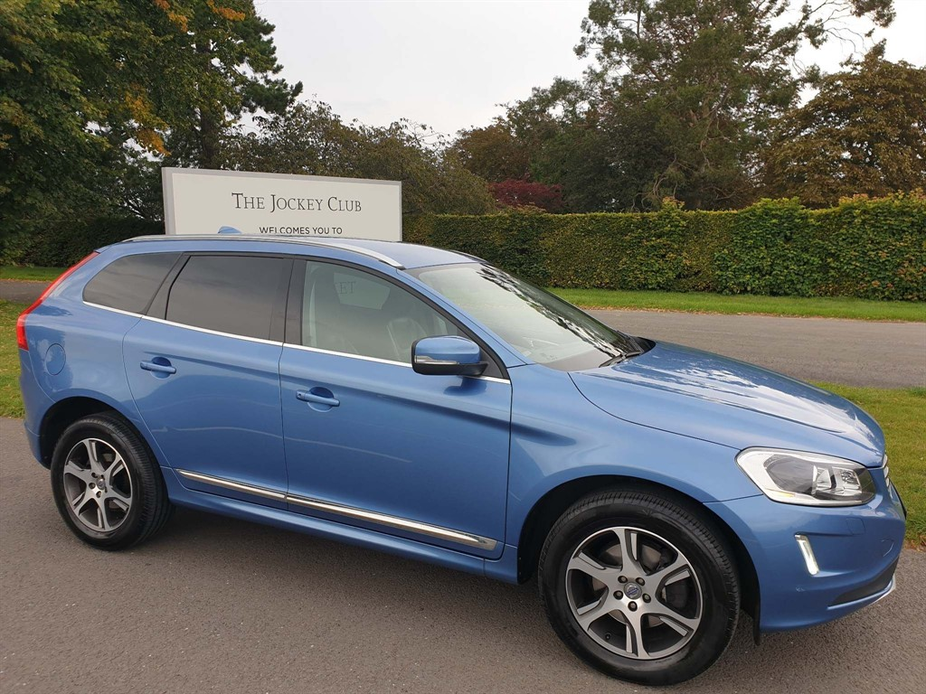 used Volvo XC60 D4 SE Lux Nav Geartronic (s/s) in newmarket-suffolk