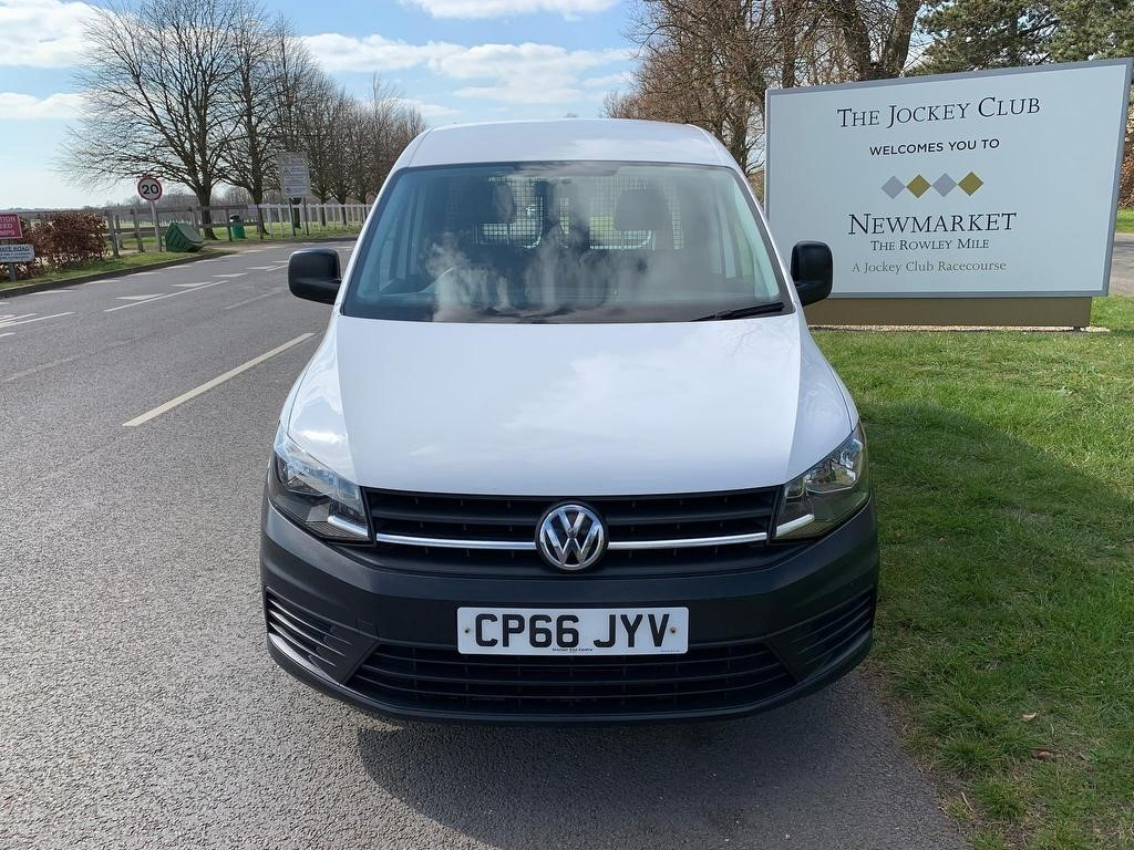 used VW Caddy TDI C20 Startline Panel Van 5dr in newmarket-suffolk