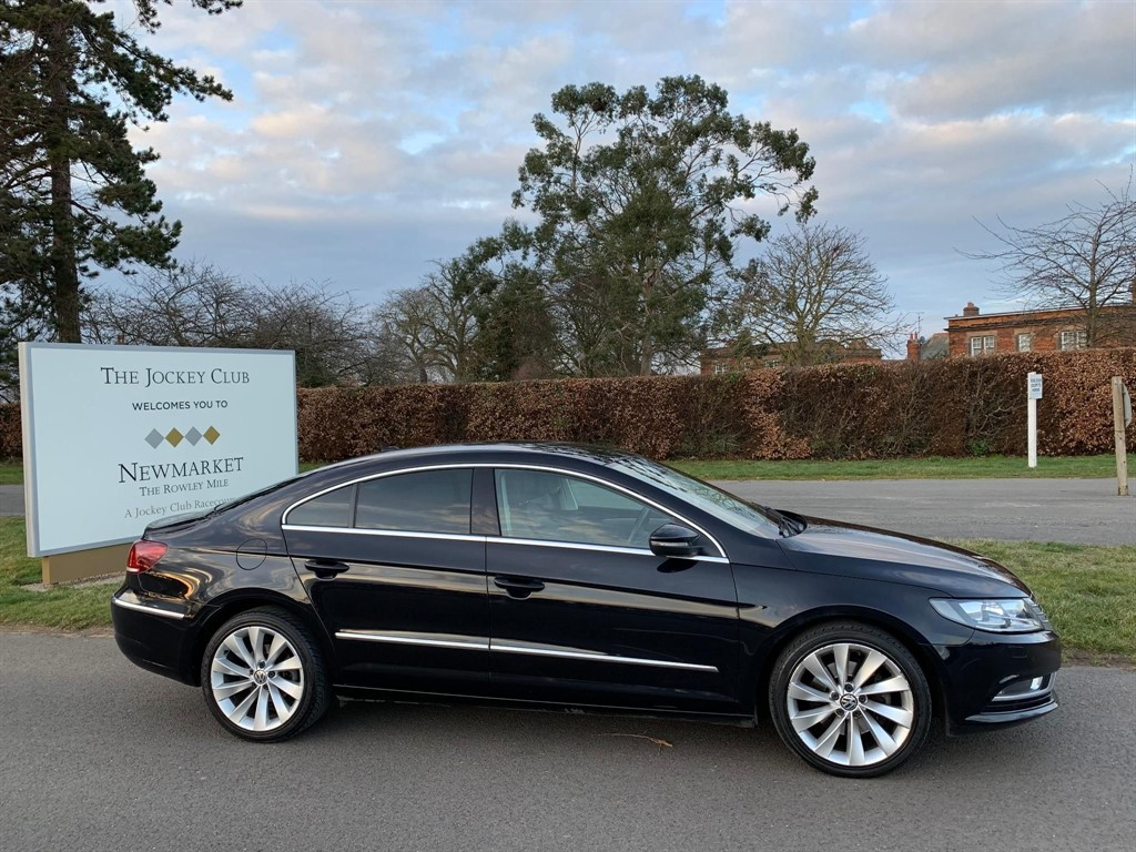 used VW CC TDI BlueMotion Tech GT 4dr in newmarket-suffolk