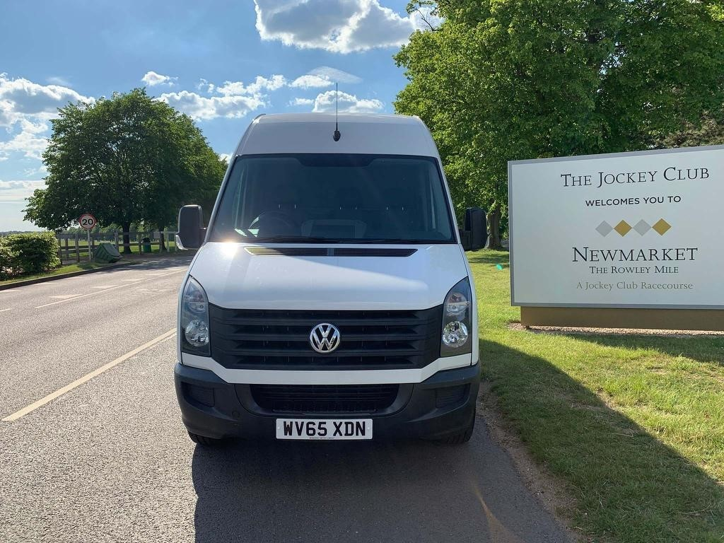 used VW Crafter TDI BlueMotion Tech CR35 LWB High Roof Van 4dr (LWB) in newmarket-suffolk