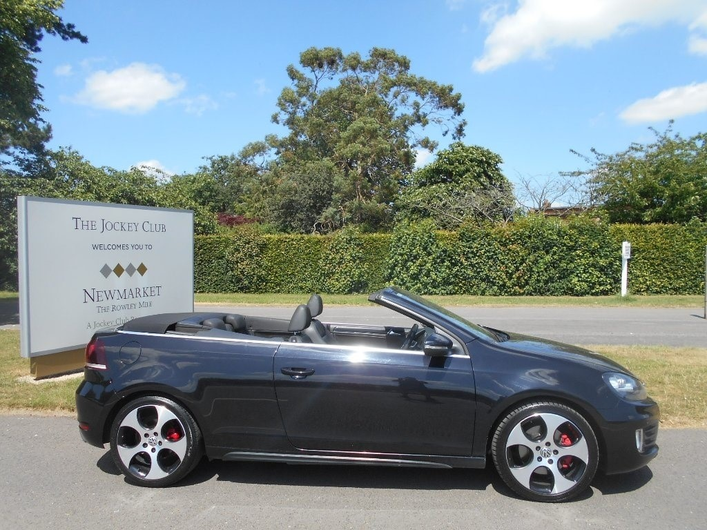 used VW Golf TSI GTI Cabriolet DSG 2dr in newmarket-suffolk