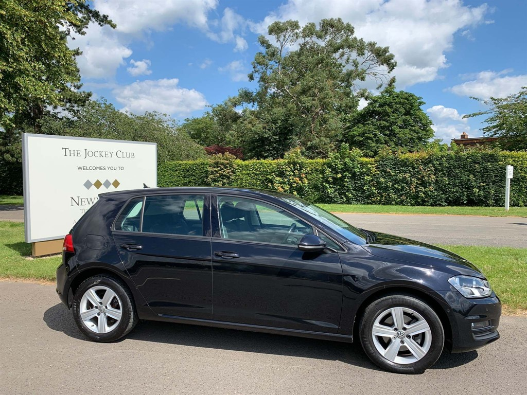 used VW Golf TDI BlueMotion Tech Match Edition (s/s) 5dr in newmarket-suffolk