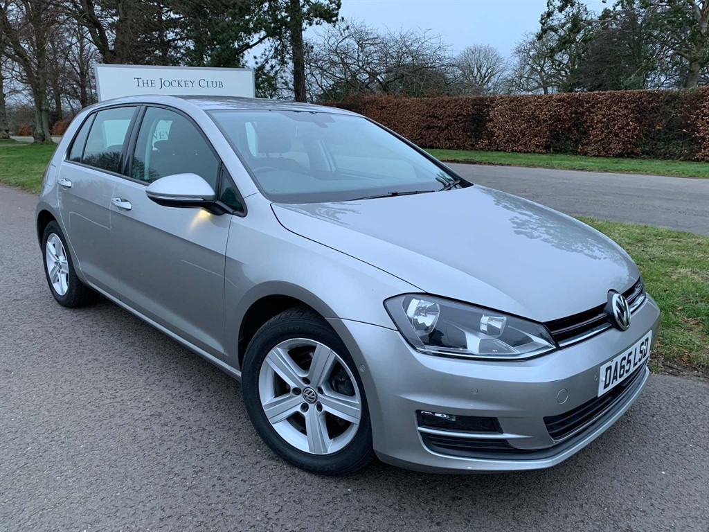 used VW Golf TDI BlueMotion Tech Match DSG (s/s) 5dr in newmarket-suffolk