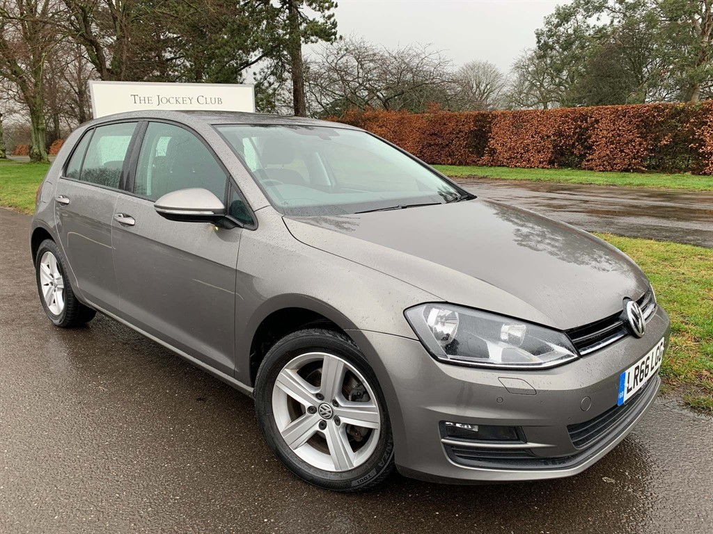 used VW Golf TDI BlueMotion Tech Match Edition DSG (s/s) 5dr in newmarket-suffolk