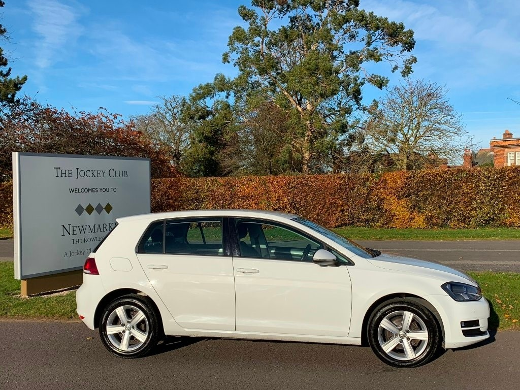 used VW Golf TDI BlueMotion Tech Match (s/s) 5dr in newmarket-suffolk