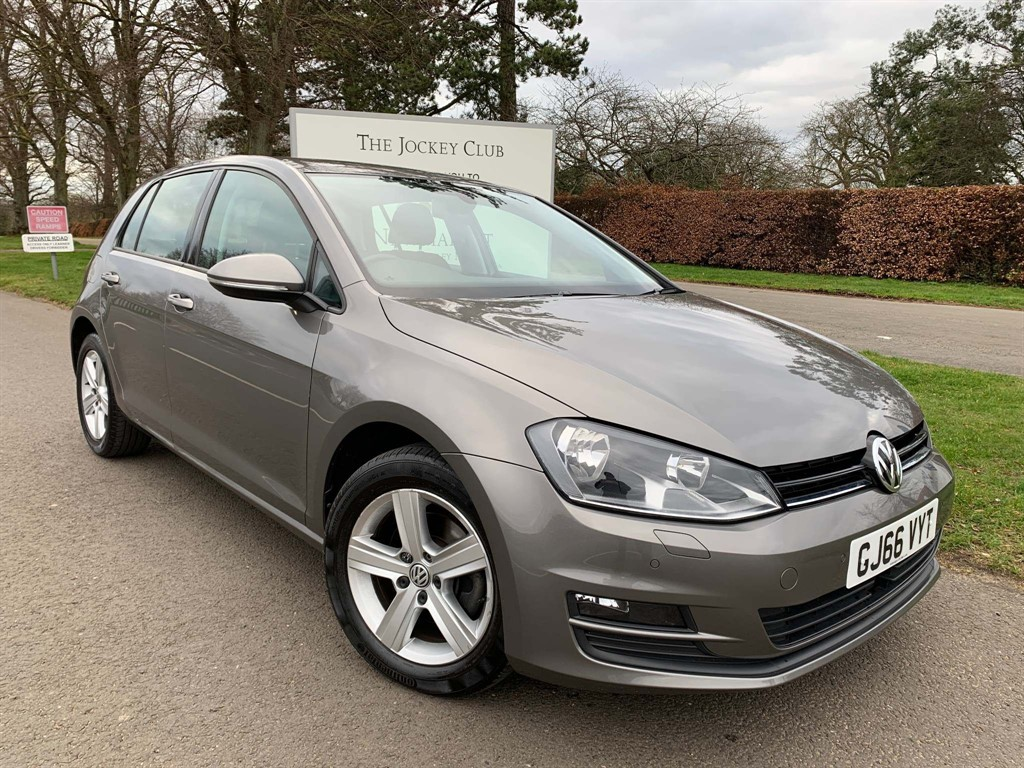 used VW Golf TSI BlueMotion Tech Match Edition (s/s) 5dr in newmarket-suffolk