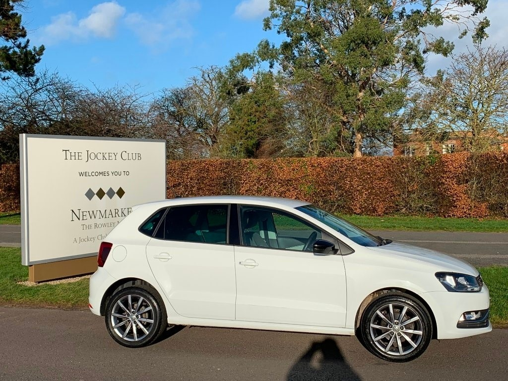 used VW Polo BlueMotion Tech SE Design (s/s) 5dr in newmarket-suffolk