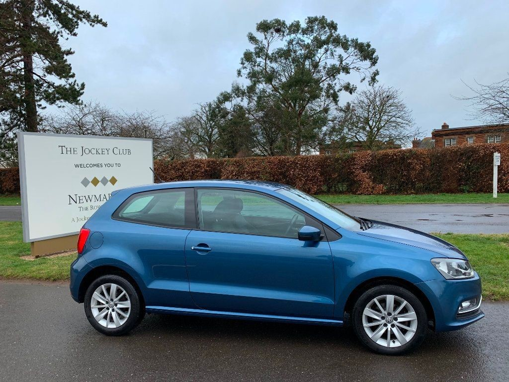 used VW Polo TSI BlueMotion Tech SE (s/s) 3dr in newmarket-suffolk
