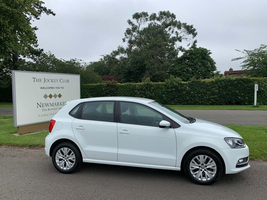 used VW Polo TSI BlueMotion Tech SE (s/s) 5dr in newmarket-suffolk