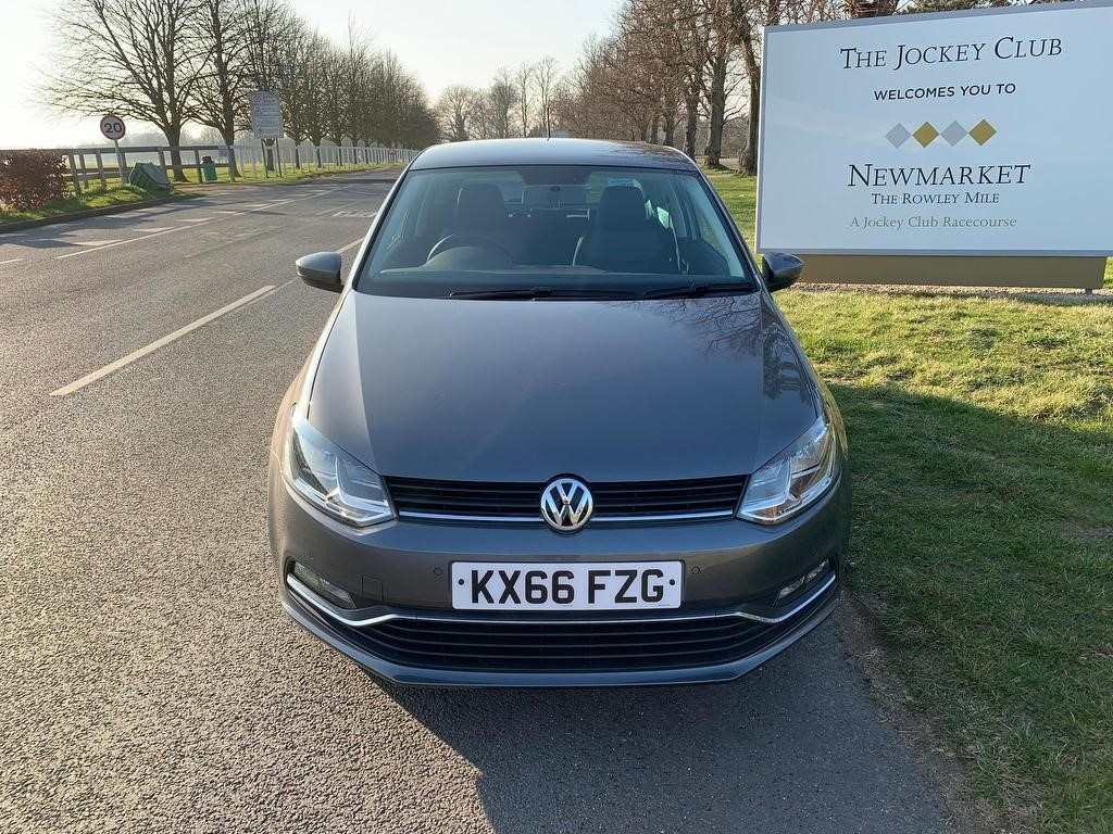 used VW Polo TSI BlueMotion Tech Match (s/s) 3dr in newmarket-suffolk