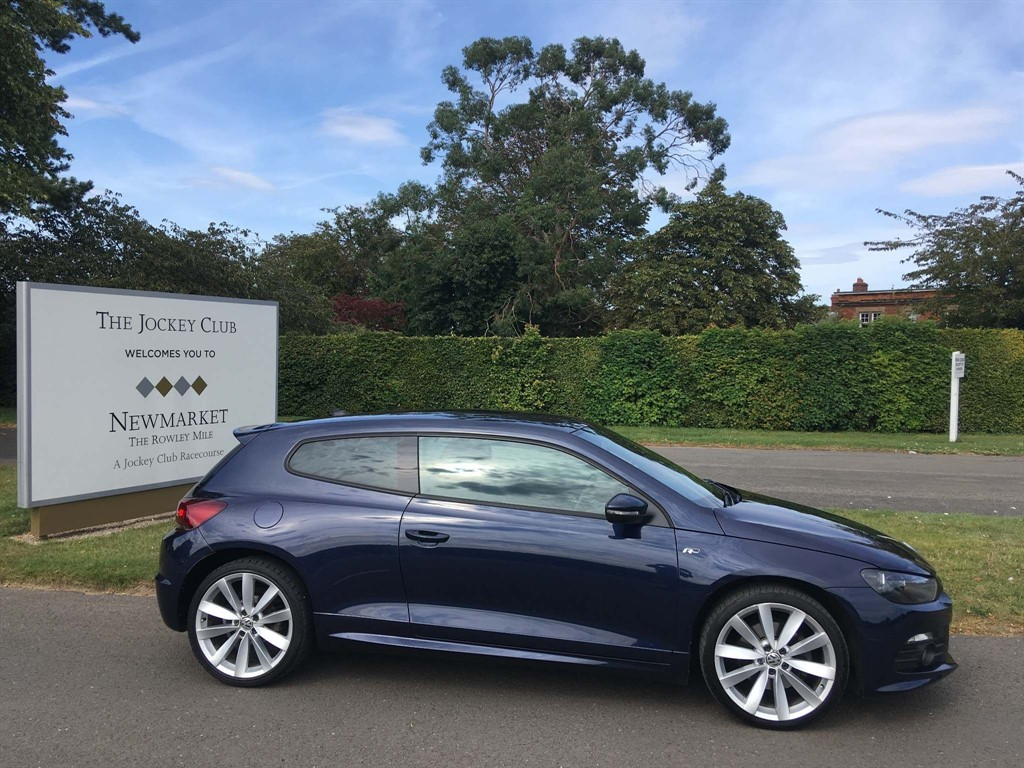 used VW Scirocco TDI R-Line 3dr in newmarket-suffolk