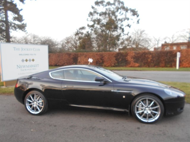 used Aston Martin DB9 5.9 Seq 2dr in newmarket-suffolk