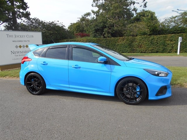 used Ford Focus EcoBoost RS (AWD) 5dr (start/stop) in newmarket-suffolk