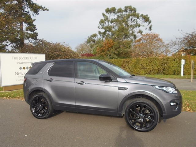 used Land Rover Discovery Sport TD4 HSE Luxury 4X4 5dr in newmarket-suffolk