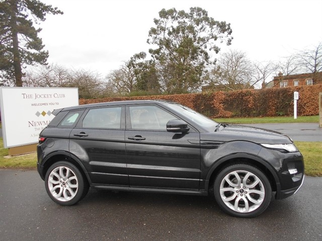 used Land Rover Range Rover Evoque SD4 Dynamic Hatchback AWD 5dr in newmarket-suffolk