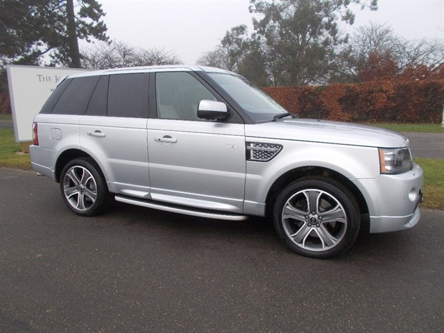 used Land Rover Range Rover Sport SD V6 Autobiography Sport Station Wagon 4x4 5dr in newmarket-suffolk