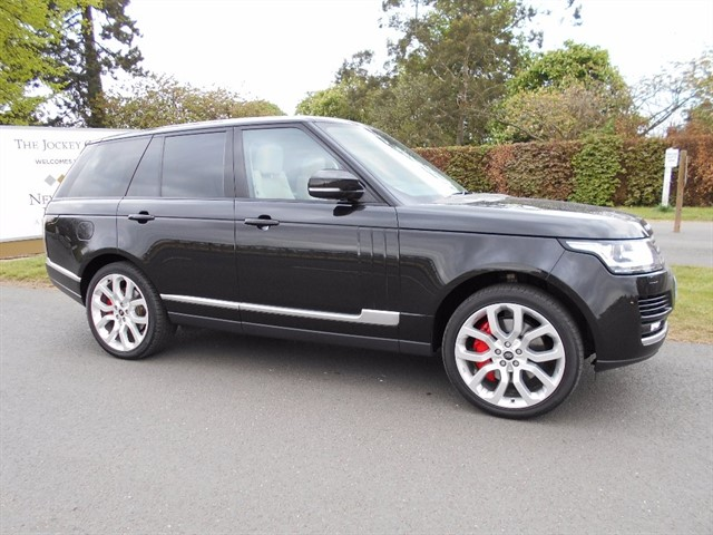 used Land Rover Range Rover TD V6 Vogue 4x4 5dr (start/stop) in newmarket-suffolk