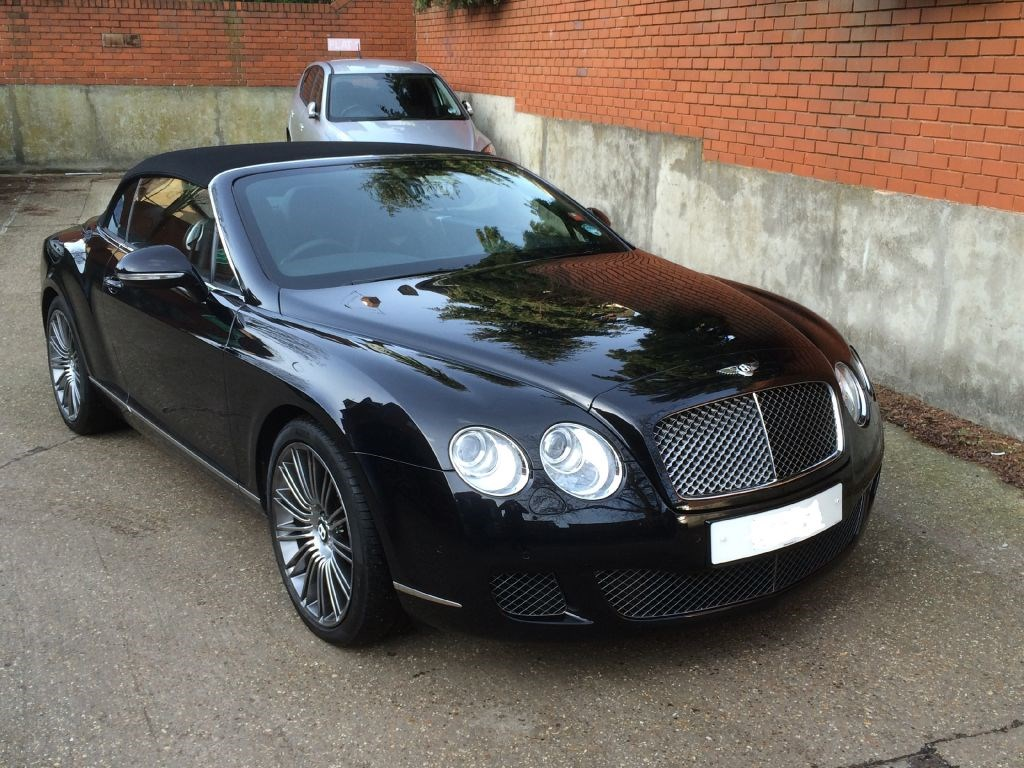 used black bentley continental gtc for sale essex. Black Bedroom Furniture Sets. Home Design Ideas