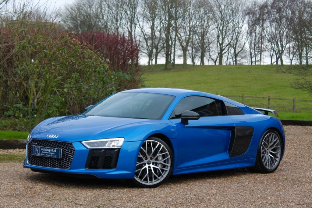 Used Ara Blue Crystal Effect Audi R8 for Sale ...