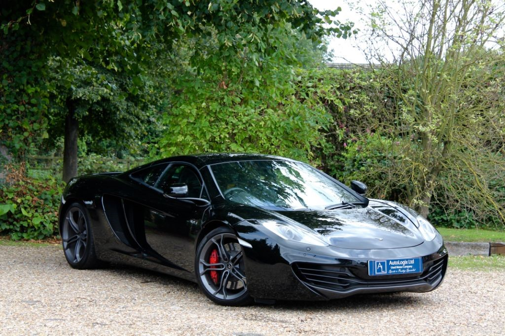 used carbon black mclaren mp4-12c for sale | nottinghamshire