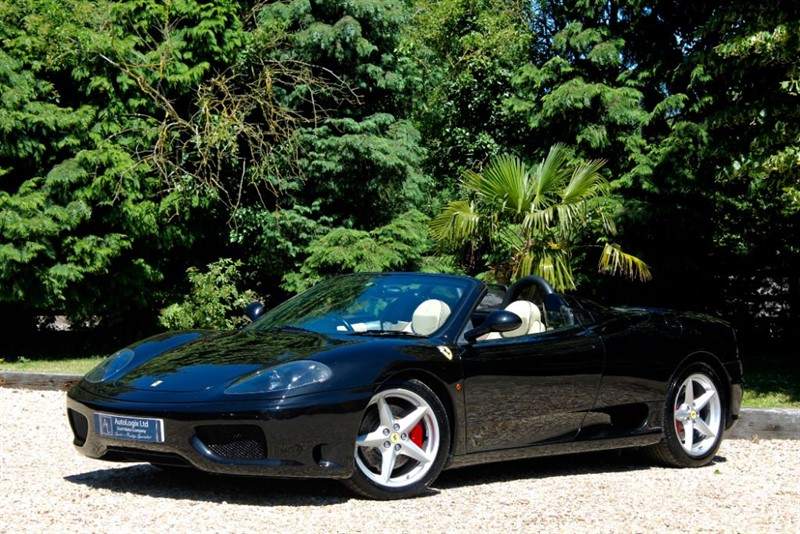 used Ferrari 360 SPIDER MANUAL in retford-nottinghamshire