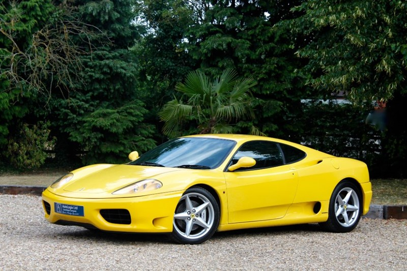 used Ferrari 360 MODENA MANUAL in retford-nottinghamshire
