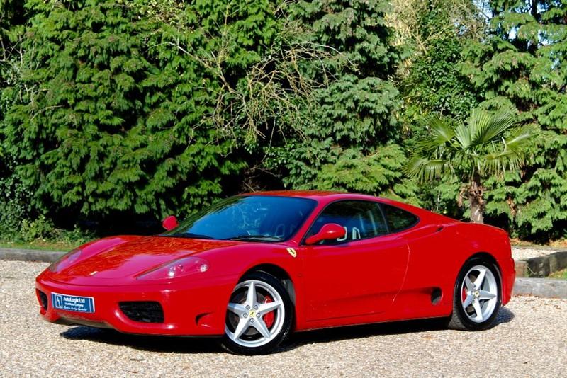 used Ferrari 360 MODENA F1 in retford-nottinghamshire