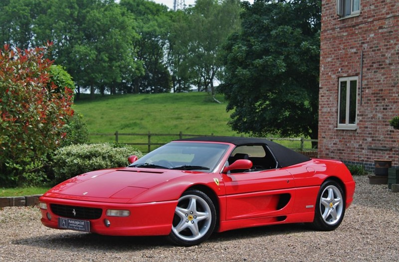 used Ferrari F355 355 SPIDER in retford-nottinghamshire