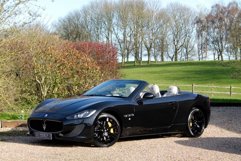 used Maserati Granturismo GRANCABRIO SPORT 4.7 in retford-nottinghamshire