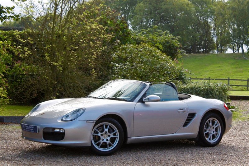 used Porsche Boxster 987 2.7 MANUAL in retford-nottinghamshire