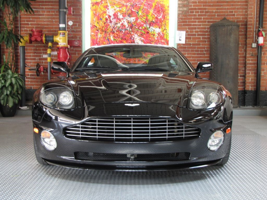 Used Onyx Black Aston Martin Vanquish For Sale West Yorkshire - Black aston martin vanquish