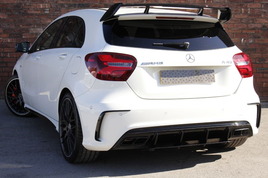 used cirrus white mercedes a45 amg for sale west yorkshire. Black Bedroom Furniture Sets. Home Design Ideas