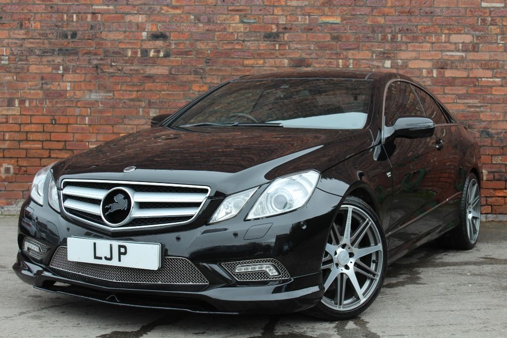 Used Black Mercedes E500 For Sale West Yorkshire