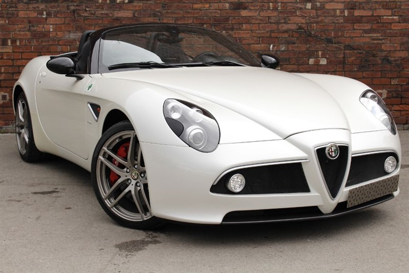 used Alfa Romeo 8C SPIDER in yorkshire
