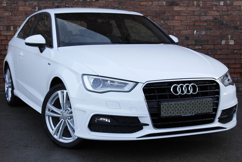 used Audi A3 TDI S LINE  in yorkshire