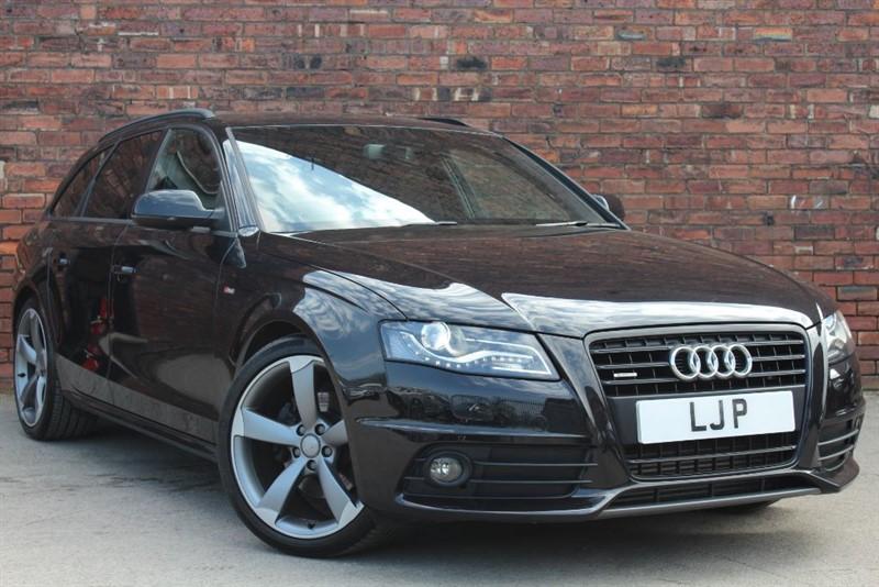 used Audi A4 Avant TDI QUATTRO S LINE BLACK EDITION in yorkshire