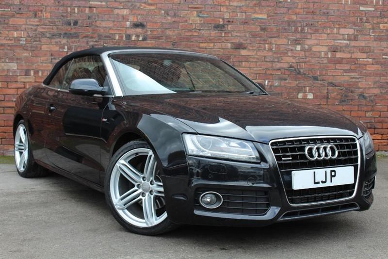 used Audi A5 TDI QUATTRO S LINE in yorkshire