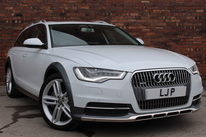 used Audi A6 allroad BiTDI QUATTRO in yorkshire