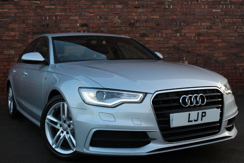 used Audi A6 TDI S LINE in yorkshire