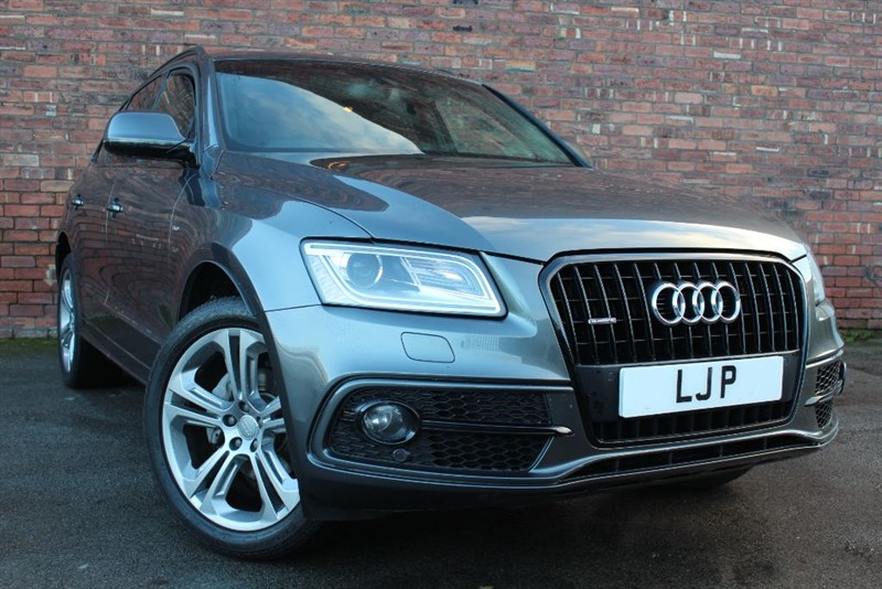 used Audi Q5 TDI QUATTRO S LINE PLUS in yorkshire