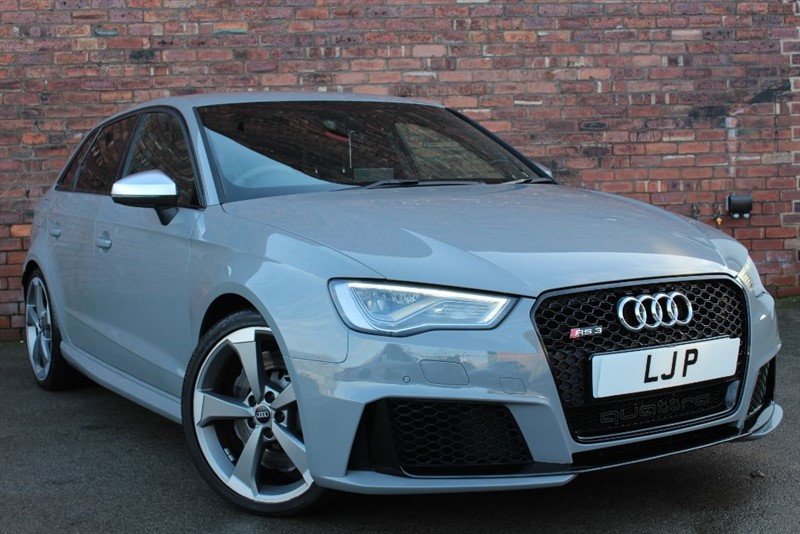 used Audi RS3 RS3 SPORTBACK QUATTRO NAV in yorkshire