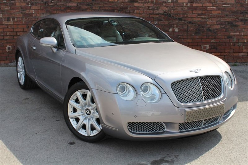 used Bentley Continental GT 2d 550 BHP in yorkshire